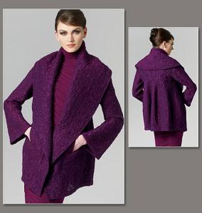 Donna Karan jacket - made in cloque