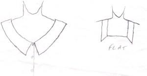 Flat collars