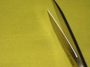 Serrated blade.