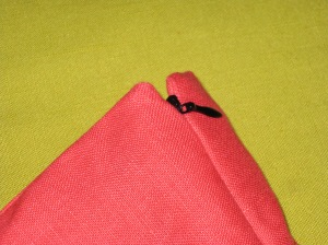 The zipper stops are hidden inside the pocket resulting in a much more polished finish.