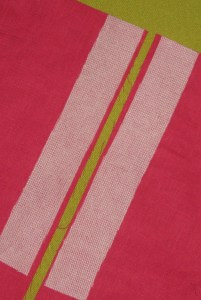 Fuse straight grain strips of interfacing to support the seam allowance where zipper is inserted