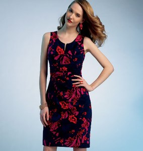 Kay Unger dress Vogue 1303