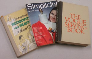 Commonsense Dresscutting and Drafting for Adults; Simplicity Sewing Book; The Vogue Sewing Book