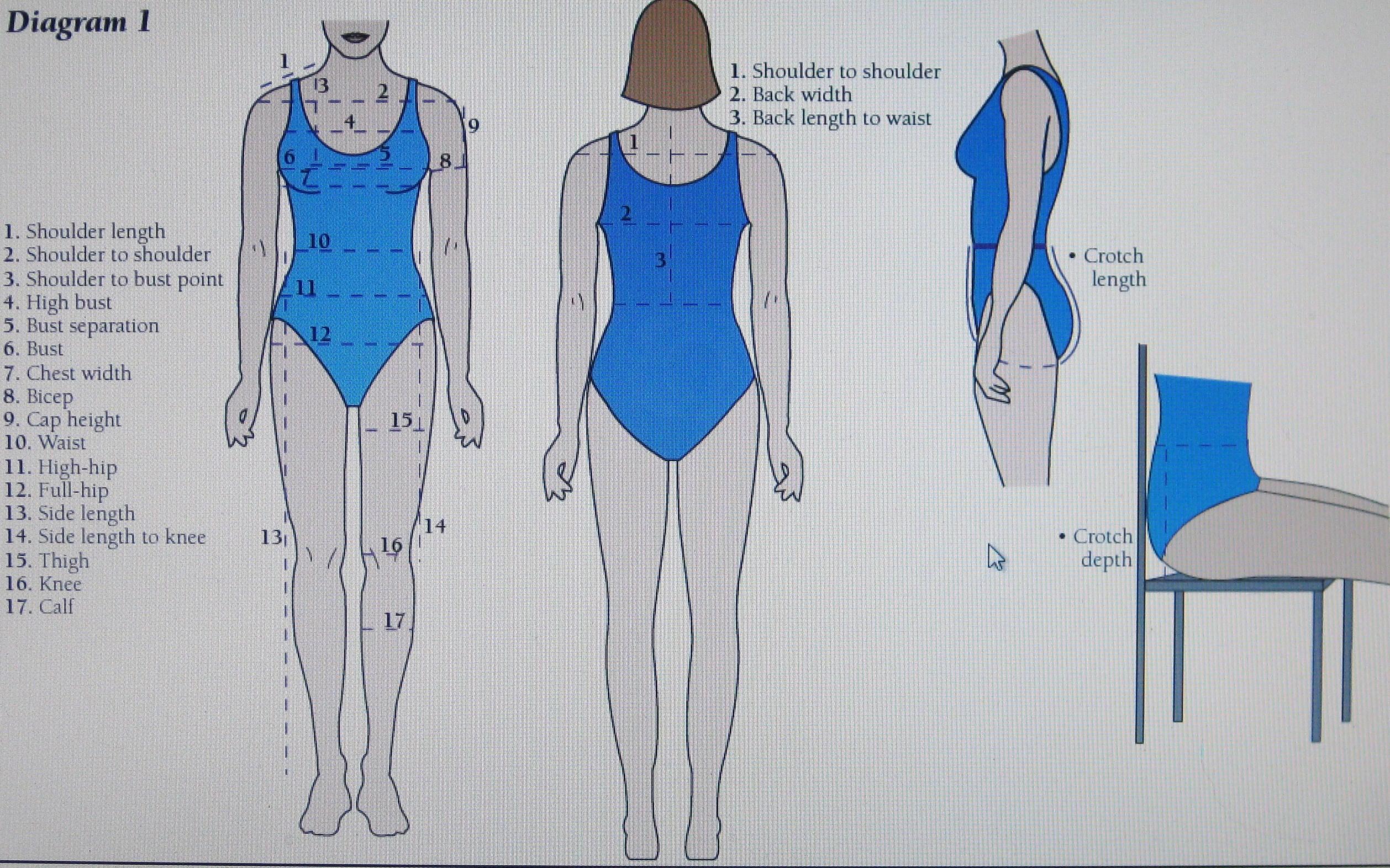 measurements body