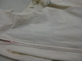 Alterations measurements marked where needed